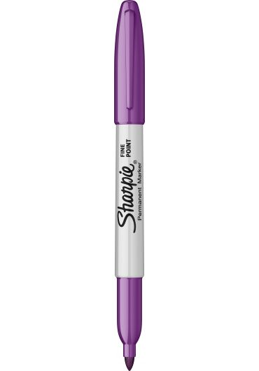 Marker permanent Fine Point Bullet - Purple