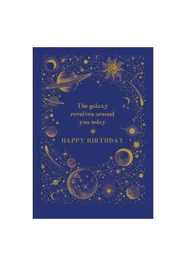 Felicitare - Galaxy Revolves