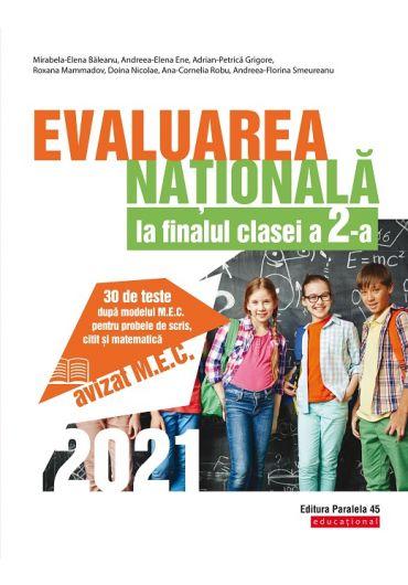 Evaluarea Nationala 2021 la finalul clasei a II-a