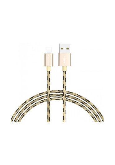 Cablu Date BX3 to Lightning Borofone 1m auriu