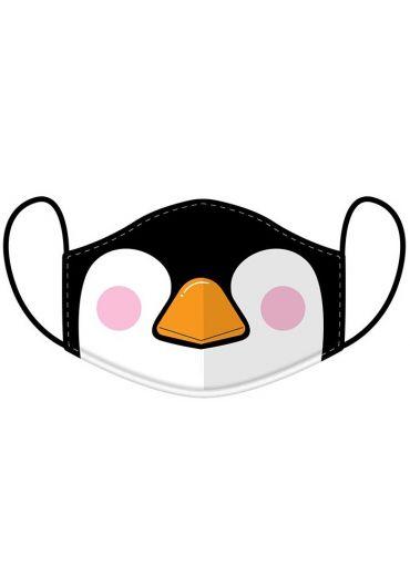 Masca de protectie reutilizabila - Cutiemals Penguin Large