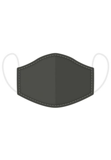 Masca de protectie reutilizabila - Grey Large
