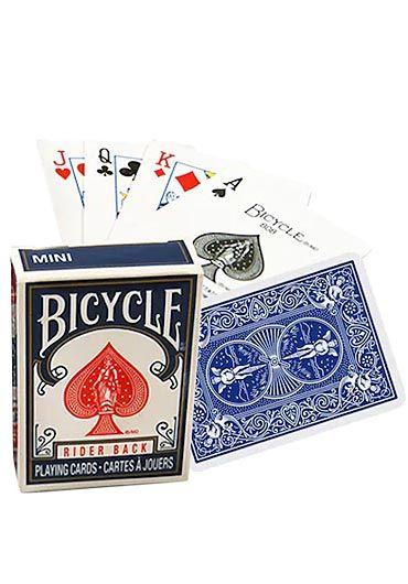 Carti de joc Mini Bicycle rosu/albastru