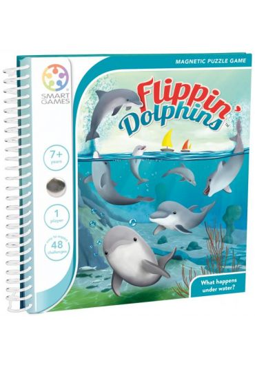 Puzzle magnetic Flippin Dolphin