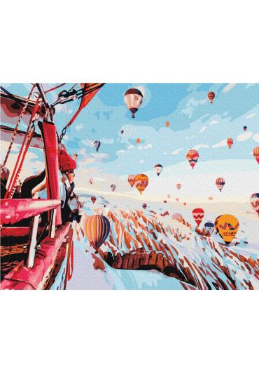 Set Picturi pe numere, Acuarello, 40X50 cm - Cappadocia
