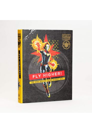 Captain Marvel Journal - Fly Higher! Do One Brave Thing Every Day