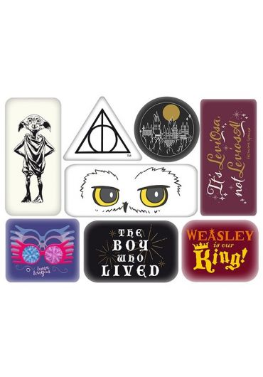 Set 6 magneti - Harry Potter (Characters)