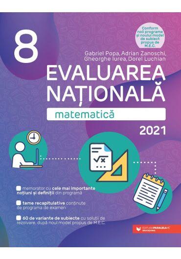 Evaluare Nationala 2021. Matematica, clasa a VIII-a
