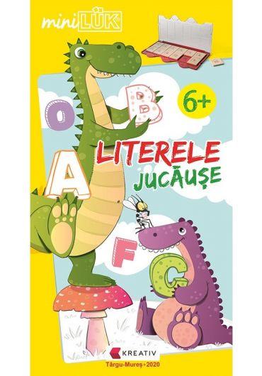 Joc educativ LUK, Literele Jucause, exercitii distractive de limba romana, +6