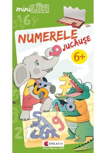 Joc educativ LUK, Numerele Jucause, exercitii distractive de matematica, +6