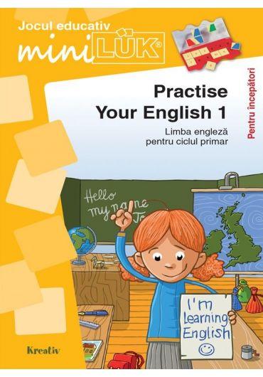 Joc educativ LUK, Practise your English 1, exercitii de limba engleza pentru incepatori, +5