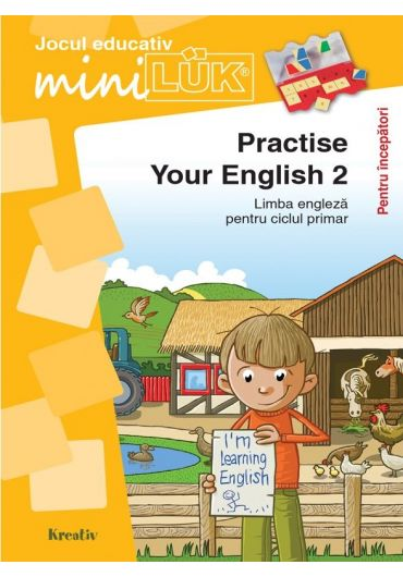 Joc educativ LUK, Practise your English 2, exercitii de limba engleza pentru incepatori, +5