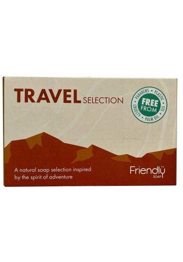 Set Cadou 4 Sapunuri Naturale Travel Selection