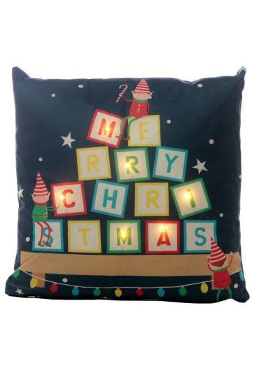 Perna decorativa cu luminite Led - Elf Xmas