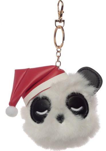 Breloc - Pandarama Panda Pom Pom Xmas
