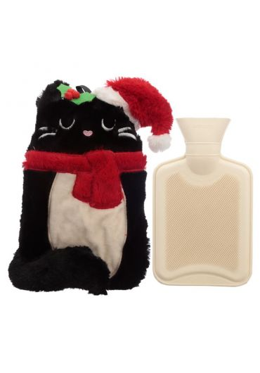 Incalzitor maini - Feline Festive Plush Cat Xmas