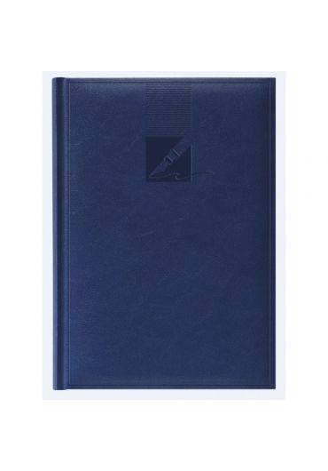Agenda A5 nedatata - albastru