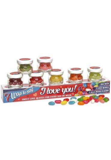 Cutie 7 borcane - 7 Ways to say I love You