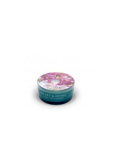 Lumanare parfumata Glass Scent Cup - Sweet Pea