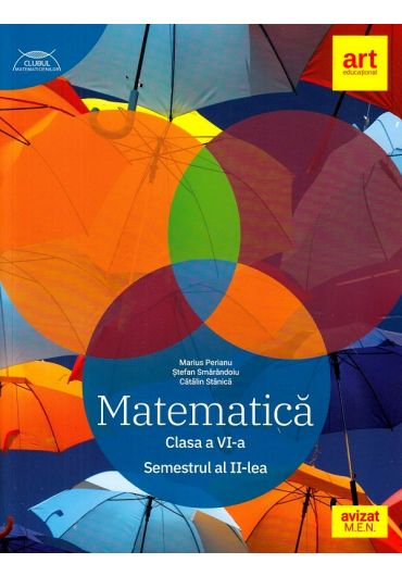 Matematica. Clasa a VI-a, semestrul al II-lea
