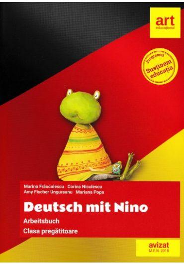 Deutsch mit Nino. Arbeitsbuch, clasa pregatitoare