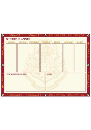 Planner - Harry Potter - Hogwarts 9 3/4 A4 Desk Pad