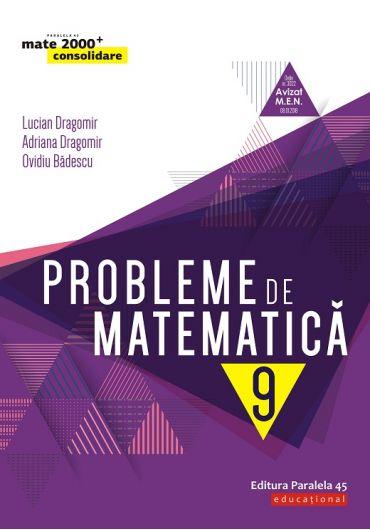 Probleme de matematica, clasa a IX-a
