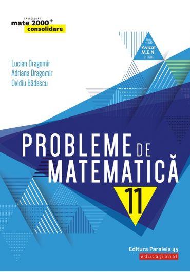 Probleme de matematica, clasa a XI-a