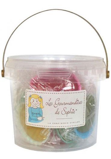 Galetusa cu bomboane in forma de scoici