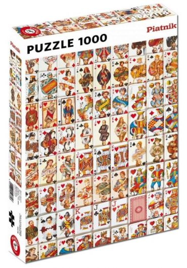 "Puzzle 1000 piese ""Carti de Joc"""