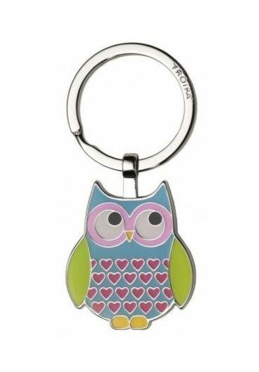 Breloc de chei - Owl Rosy