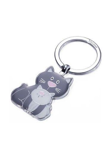 Breloc in forma de pisica - Cat & Kitty