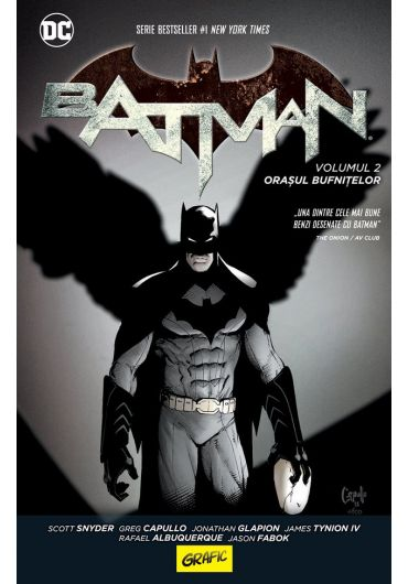 Batman. Orasul bufnitelor, volumul II