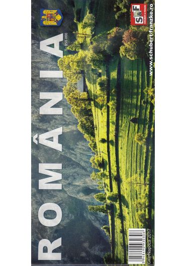 Harta Romania - Ed. 2