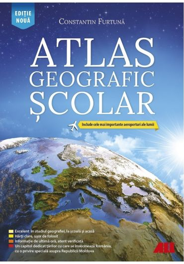 Atlas geografic scolar. Editia a VI-a