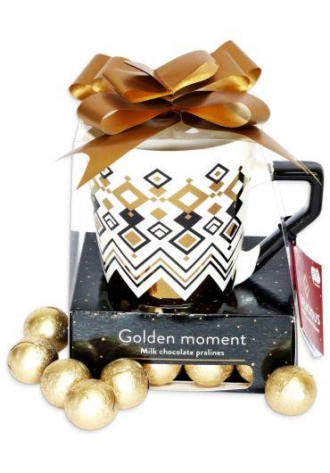 "Cana Bonbon - Santalicious cu praline ""Golden Moment"""