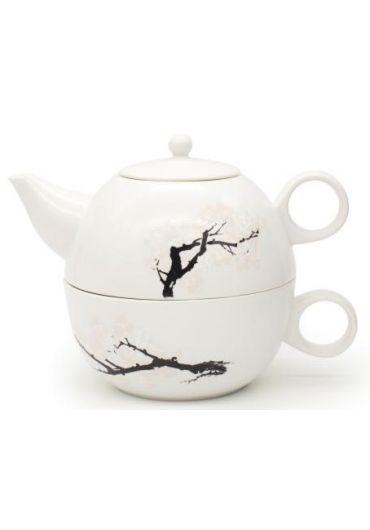 Set Ceainic portelan - Tea for One Cherry Blossom Morph