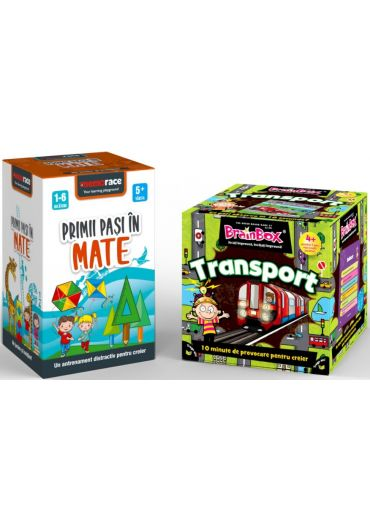 Pachet Brainbox - Transport + Memorace - Primii pasi in mate