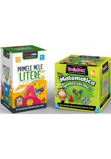 Pachet Brainbox - Matematica pentru cei mici & Memorace - Primele mele litere