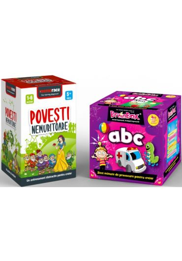 Pachet Brainbox - ABC & Memorace - Povesti nemuritoare