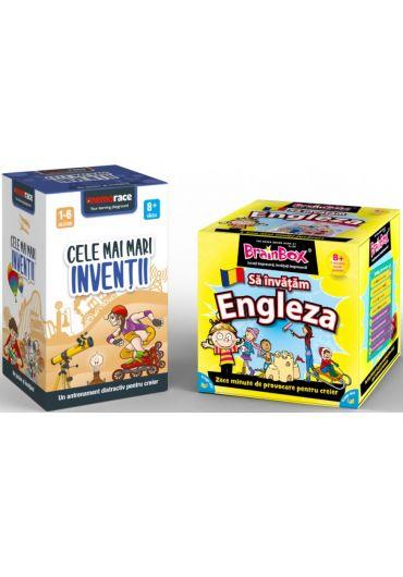 Pachet Brainbox - Sa invatam Engleza & Memorace - Cele mai mari inventii