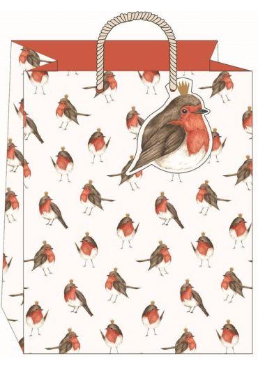 Punga cadou mare - Robins Xmas