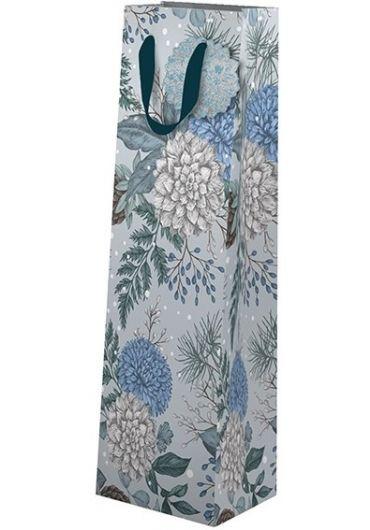 Punga cadou pentru sticla - Sapphire & Snow Xmas