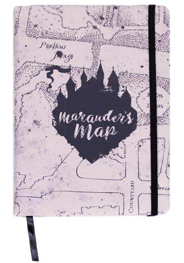 Caiet Premium Harry Potter - Marauder's Map