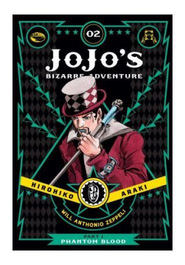 JoJo's Bizarre Adventure. Phantom Blood, vol. 2, part 1
