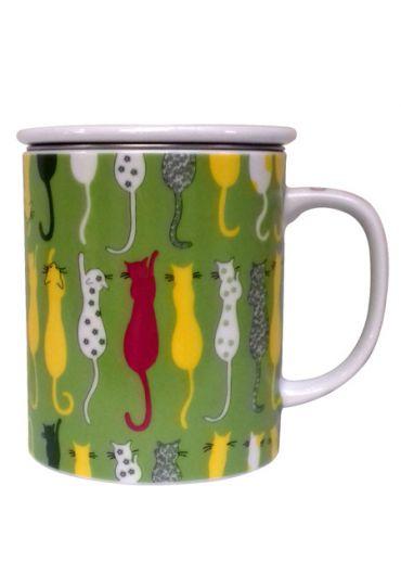 Cana cu capac - Cat Tail Green