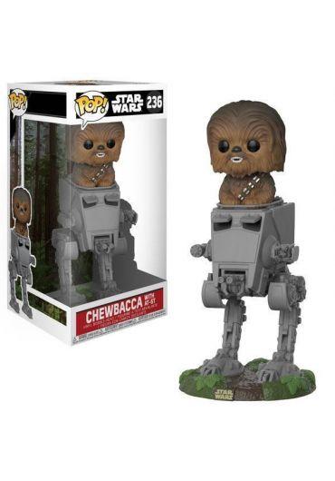 Figurina Funko Pop! Star Wars - Chewbacca with AT-ST