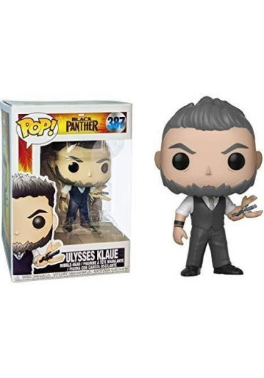 Figurina Funko Pop! Black Panther - Ulysses Klaue (Bobble-Head)