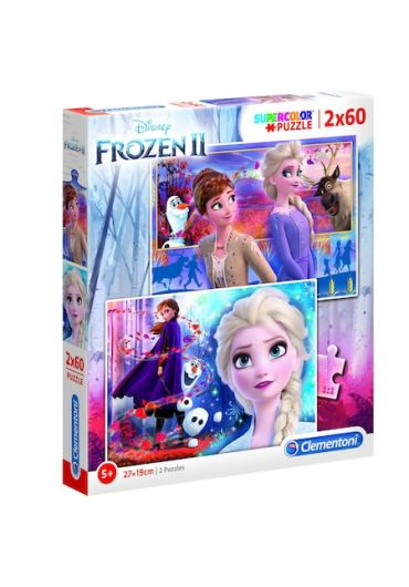 Puzzle 2 in 1 60 piese - Frozen 2
