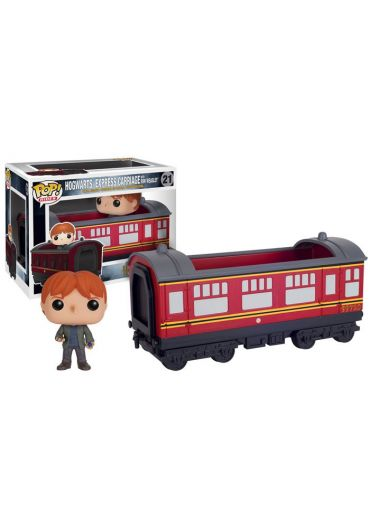 Figurina Funko Pop! Harry Potter - Hogwarts Express Carriage with Ron Weasley